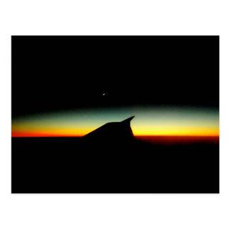 Sun Down Postcard