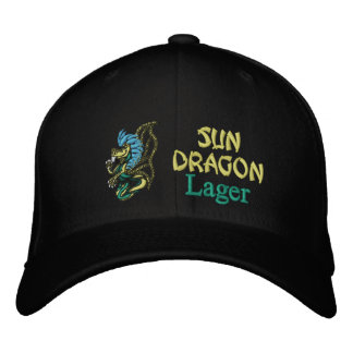 Sun Dragon, Lager Embroidered Baseball Hat