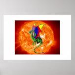 Sun Dragon Poster