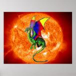 Sun Dragon Posters