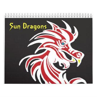 Sun Dragons Wall Calendars