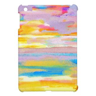 Sun Drama 2 Ocean Sea Lovers Colorful Art iPad Mini Cover