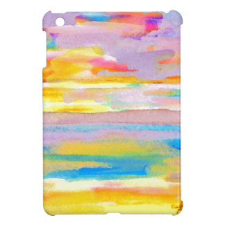 Sun Drama 2 Ocean Sea Lovers Colorful Art iPad Mini Covers