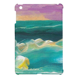 Sun Drama in the Ocean Waves Seascape Cover For The iPad Mini