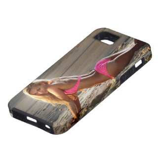 Sun drenched Beach babe iPhone SE/5/5s Case