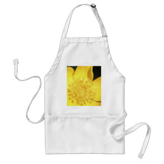 Sun Drenched Golden Buttercup Adult Apron