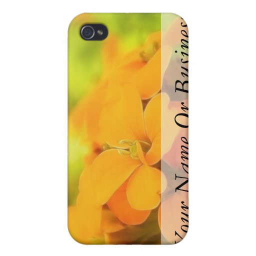 Sun Drenched Siberian Wallflower Cover For iPhone 4