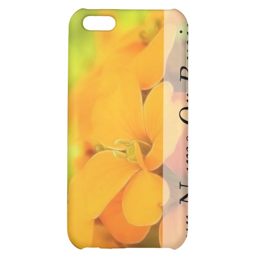 Sun Drenched Siberian Wallflower iPhone 5C Covers