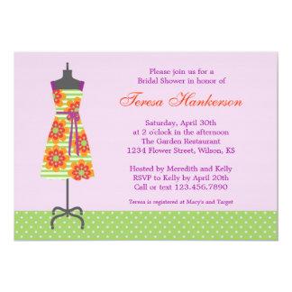 Sun Dress Bridal Shower Invitation
