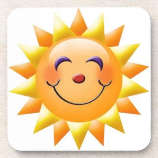 sun drink coaster