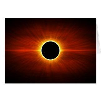 Sun Eclipse Card