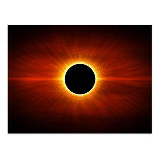 Sun Eclipse Postcard