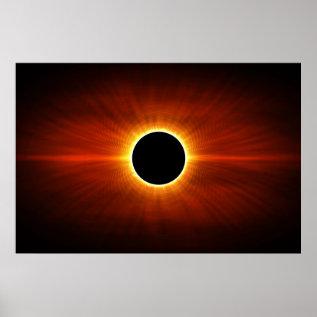 Sun Eclipse Poster at Zazzle