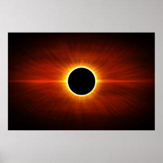 Sun Eclipse Poster