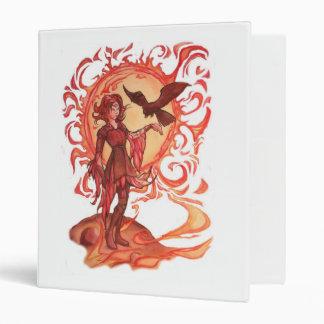 Sun Elf: Red Hot! 3 Ring Binder
