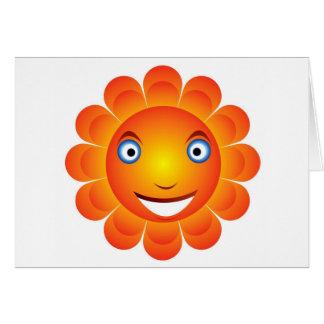 sun  emotion card