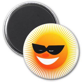 sun  emotion fridge magnet
