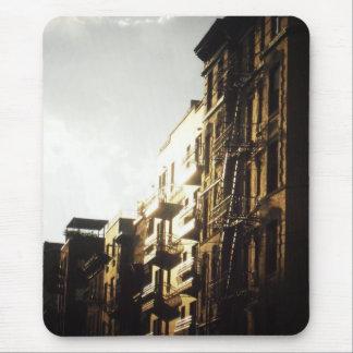 Sun en edificios, una zona este más baja, NYC Alfombrilla De Ratón