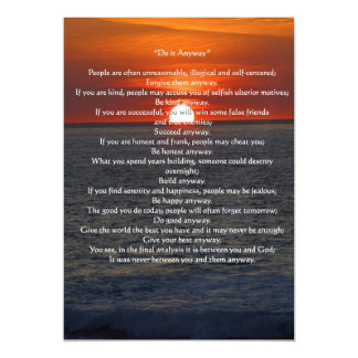 Sun en el océano lo hace de todos modos invitaciones magnéticas