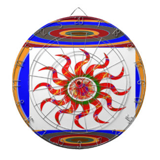 SUN Energy Chakra Graphics Dart Boards