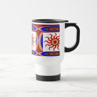 SUN Energy Chakra Graphics Travel Mug