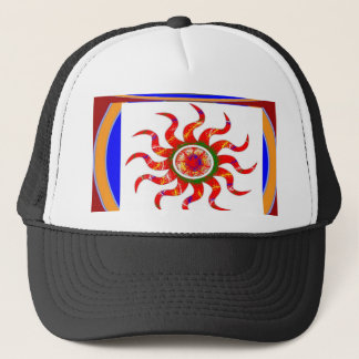 SUN Energy Chakra Graphics Trucker Hat