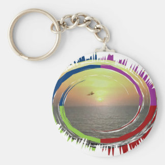Sun Energy - Life Force for earthly beings Basic Round Button Keychain