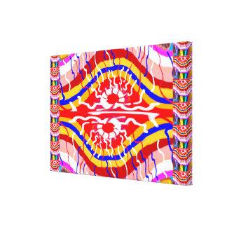 SUN Energy Waves Canvas Print