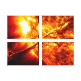 Sun Eruption - Giant Prominence Canvas Print