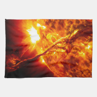 Sun Eruption - Giant Prominence Hand Towels