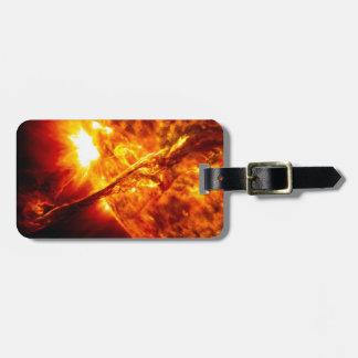 Sun Eruption - Giant Prominence Bag Tag