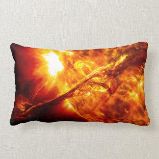 Sun Eruption - Giant Prominence Lumbar Pillow