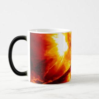 Sun Eruption - Giant Prominence Magic Mug