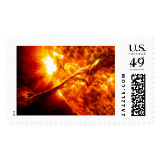 Sun Eruption - Giant Prominence Postage Stamps