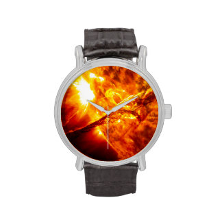 Sun Eruption - Giant Prominence Wrist Watch