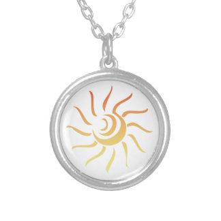 Sun estilizado joyerías