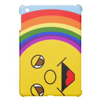 Sun Face and Rainbow iPad Case