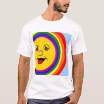 Sun Face and Rainbow T-Shirt