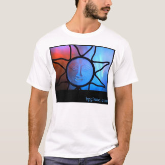 Sun Face Blue - t-shirt