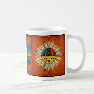 Sun Face Coffee Mugs
