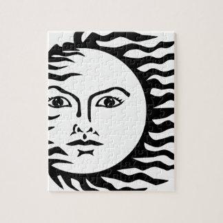 sun face jigsaw puzzle