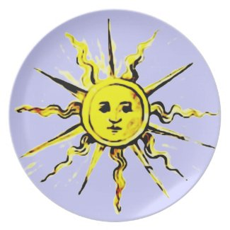 sun face - lost book of nostradamus plates
