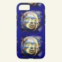 sun face/ moon face iPhone 7 case