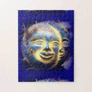 sun face/ moon face jigsaw puzzle