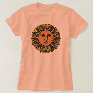 Sun Face vintage smiling sun T-Shirt