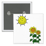 Sun feliz pin