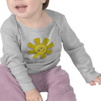 Sun feliz camiseta
