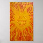 Sun feliz poster