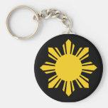 Sun filipino llaveros personalizados