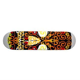 sun fire ball skateboard deck